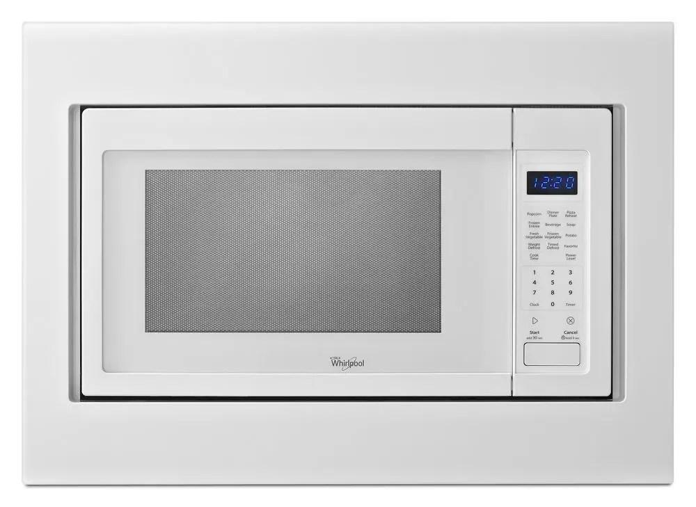 whirlpool 30 in microwave trim kit