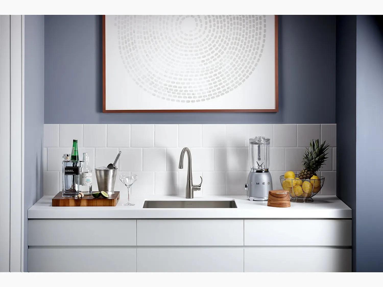 matte black bar sink faucet