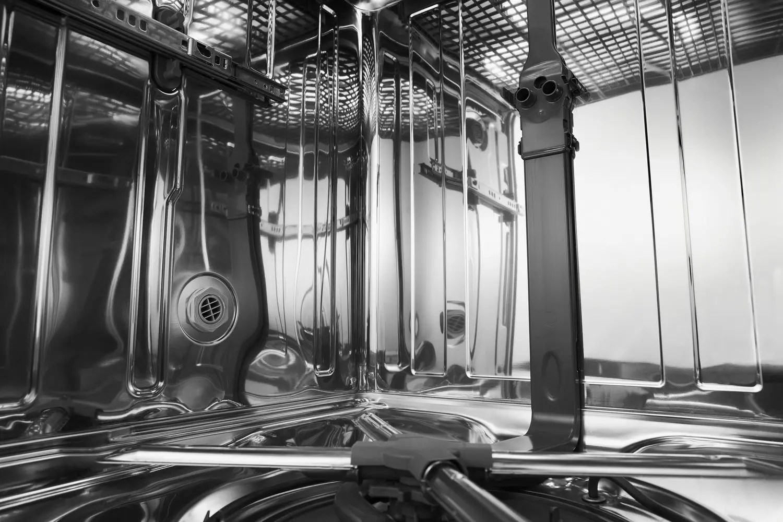 46 DBA Dishwasher with Third Level Rack White Photo #3