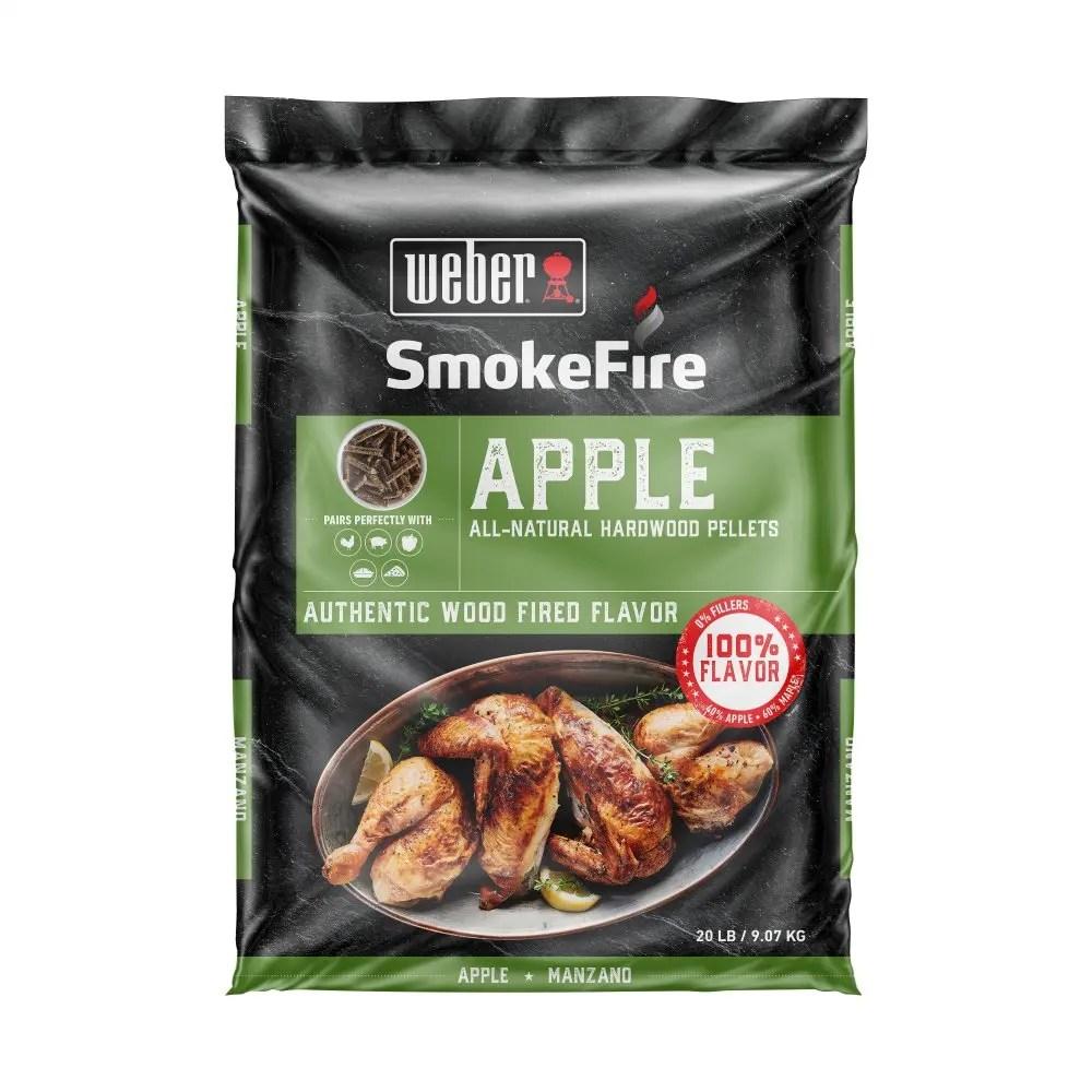 Apple All-Natural Hardwood Pellets