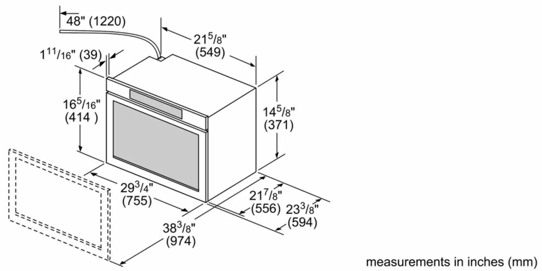 hmd8053uc bosch 800 series 30 drawer