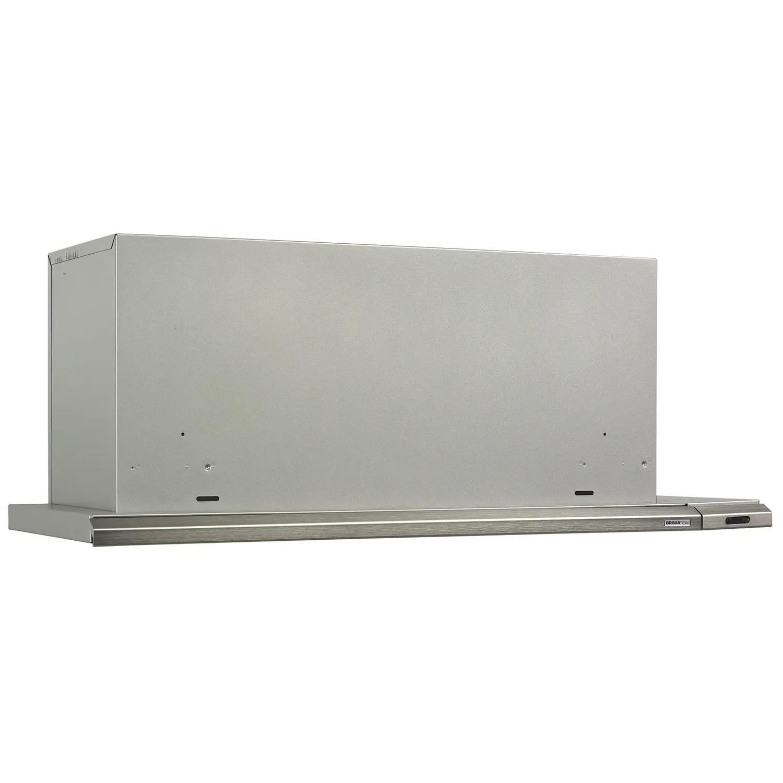 Elite 36-Inch Under-Cabinet Slide-Out Range Hood w/ Light, Brushed Aluminum