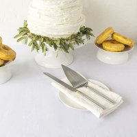 Personalized Golden Cake Serving Set