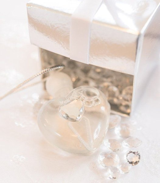 Heart Wedding Bubbles