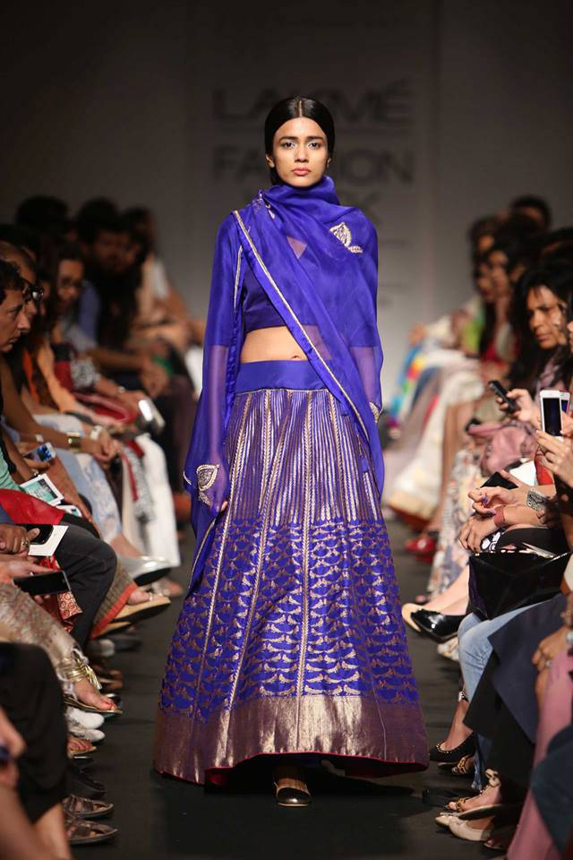 Trending  Handloom Silk Lehengas in Banarsi and