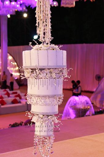 Trending Chandelier Wedding cakes  WedMeGood  Best Indian Wedding Blog for Planning  Ideas