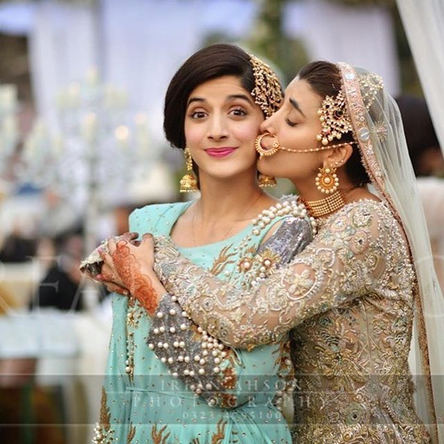 This Pakistani Actresss Wedding Is Giving Us Some Serious