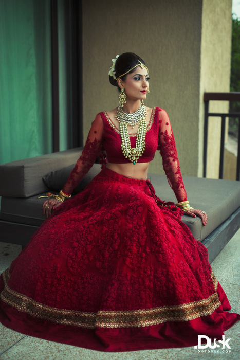 30 Sabyasachi Lehengas We Spotted on Real Brides  WedMeGood