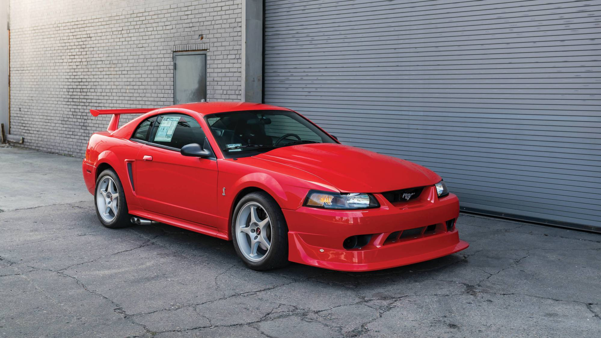 hight resolution of one of 300 mustang cobra r going to auction