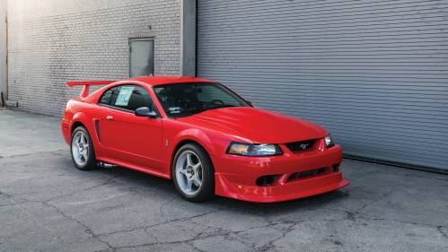 small resolution of one of 300 mustang cobra r going to auction