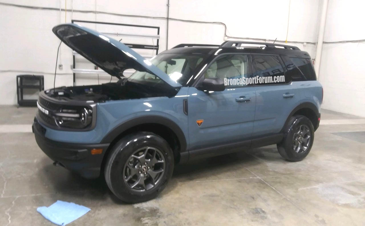 new ford bronco and bronco sport pictures leak