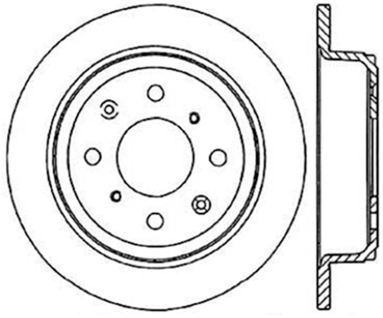 Car & Truck Brakes & Brake Parts Preferred Rear Centric