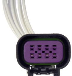 dorman techoice throttle position sensor connector dtc 645 800 [ 1198 x 1500 Pixel ]