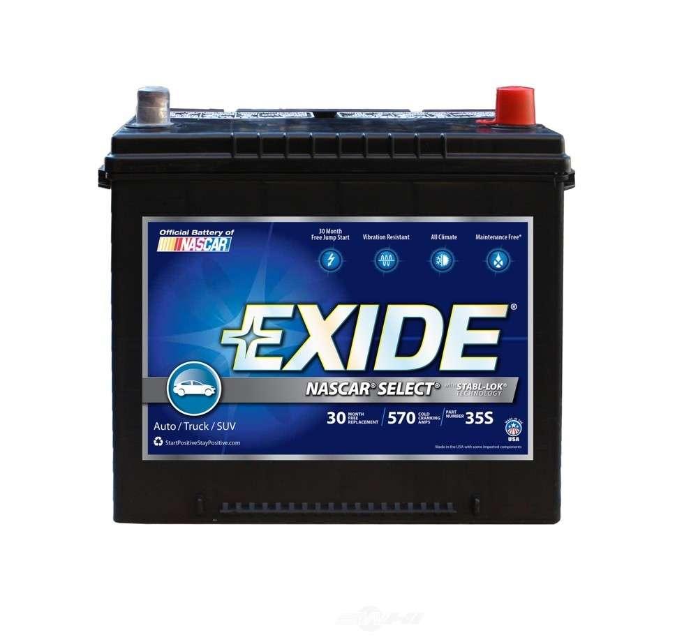 hight resolution of exide batteries new exide nascar select cca 570 exb 35s