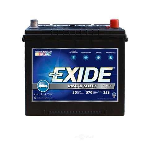 small resolution of exide batteries new exide nascar select cca 570 exb 35s