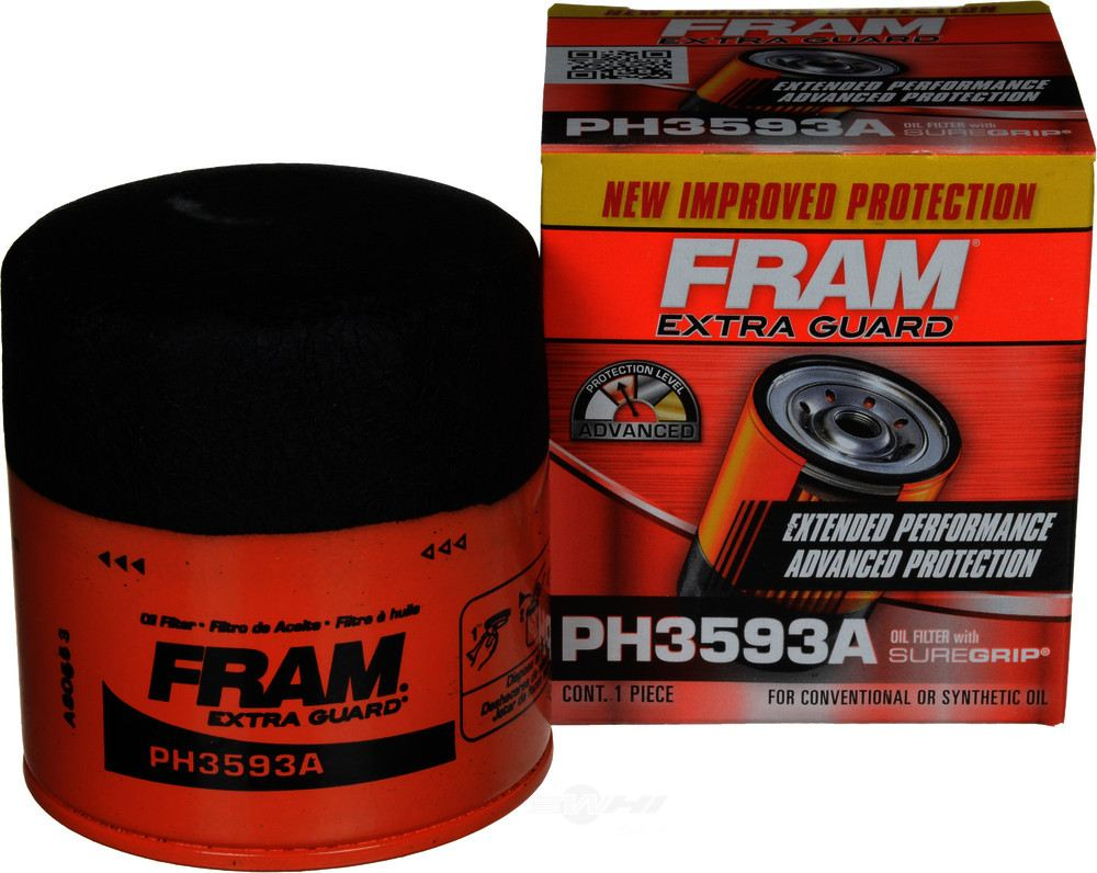 hight resolution of fram extra guard engine oil filter fra ph3593a