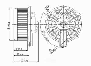 Air Conditioner Fan Motor Parts Diagram  Best Place to