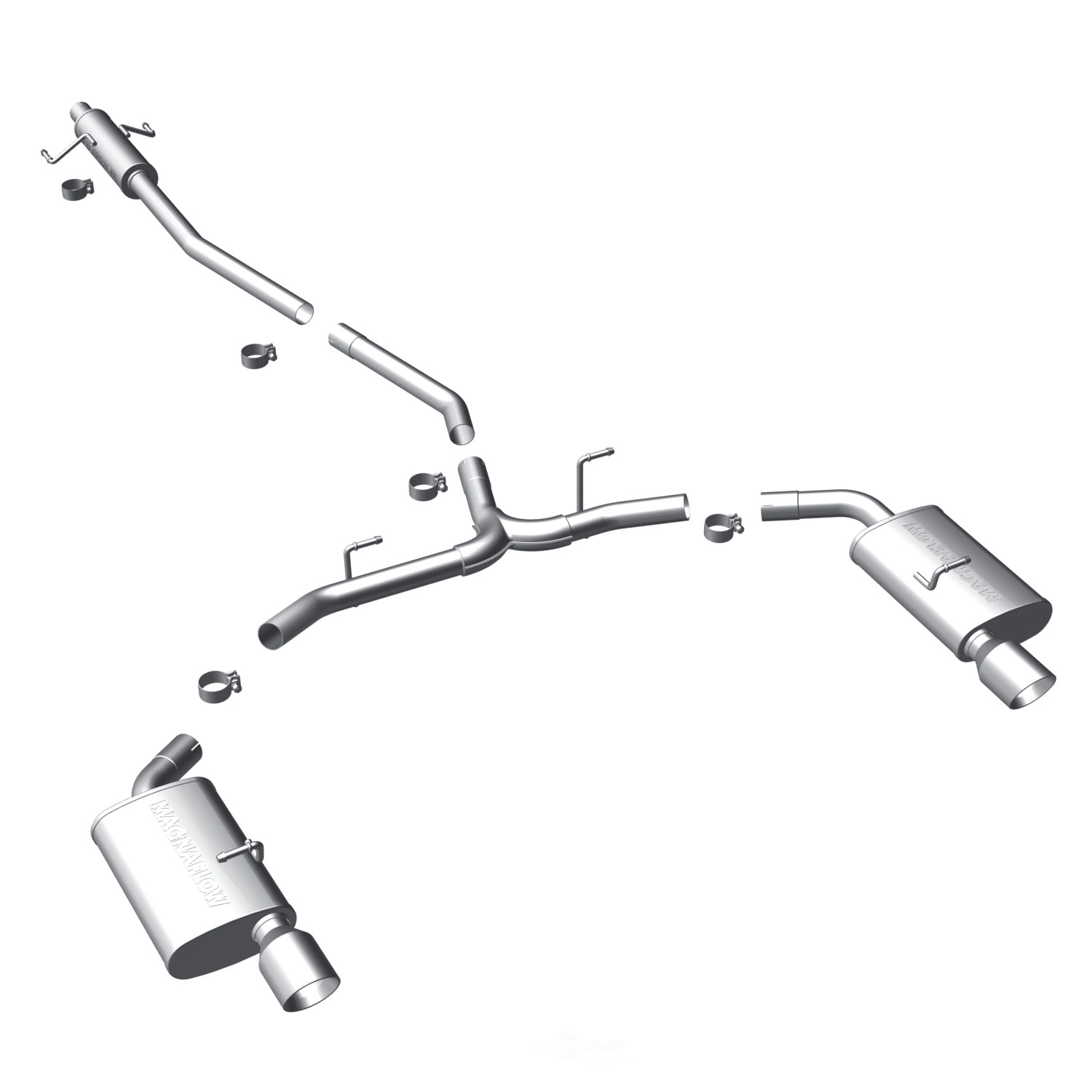2010 FORD FUSION from MAGNAFLOW PERF EXHAUST Parts