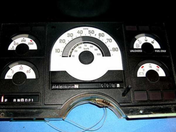 1988 Chevy 1500 Digital Gauges
