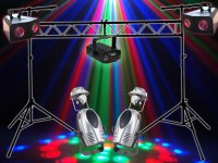 DJ Disco Lighting Package Kit 1   WhyBuyNew