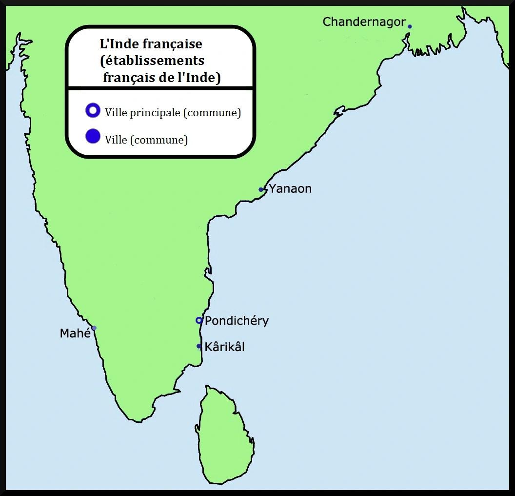 C tait un 21 octobre 1954 la r publique abandonne l - Comptoirs francais en inde ...