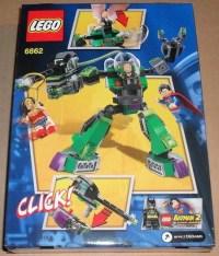 Review of LEGO 6862-2: Superman vs. Power Armor Lex