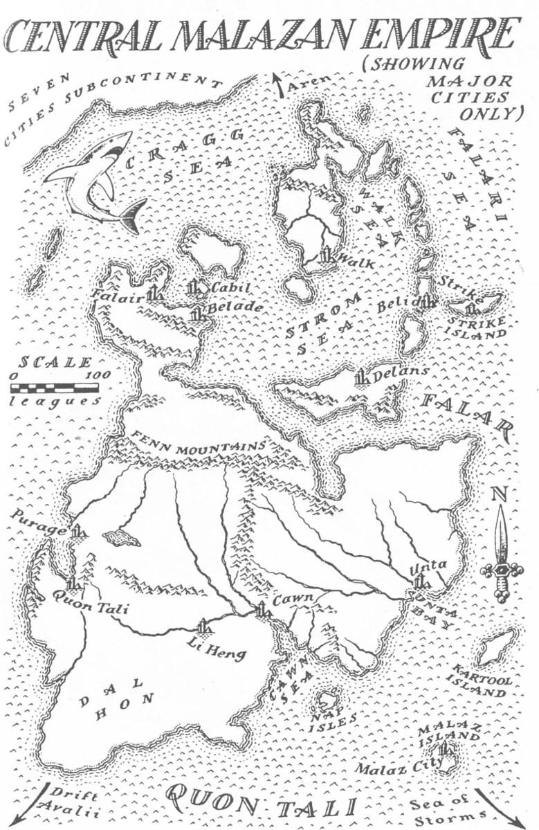 Malazan Book Of The Fallen Map : malazan, fallen, World, Malazan, Fallen, Ideas, Fantasy