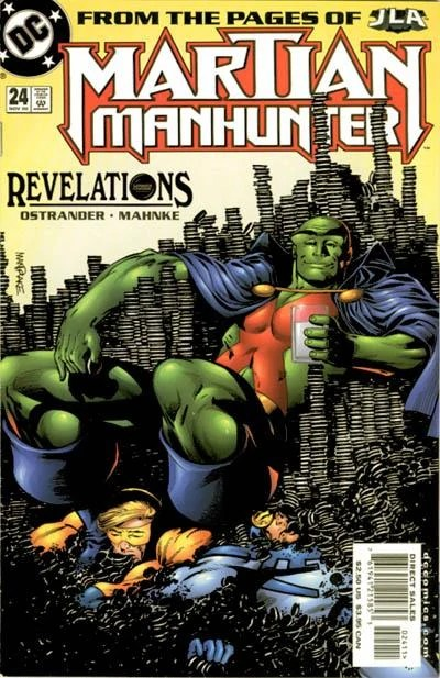Dc Funny Martian Manhunter Comic Science Fiction