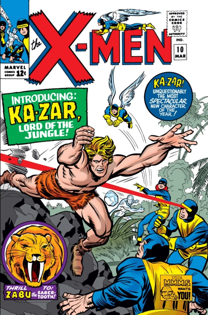 The Coming of . . . Ka-Zar!