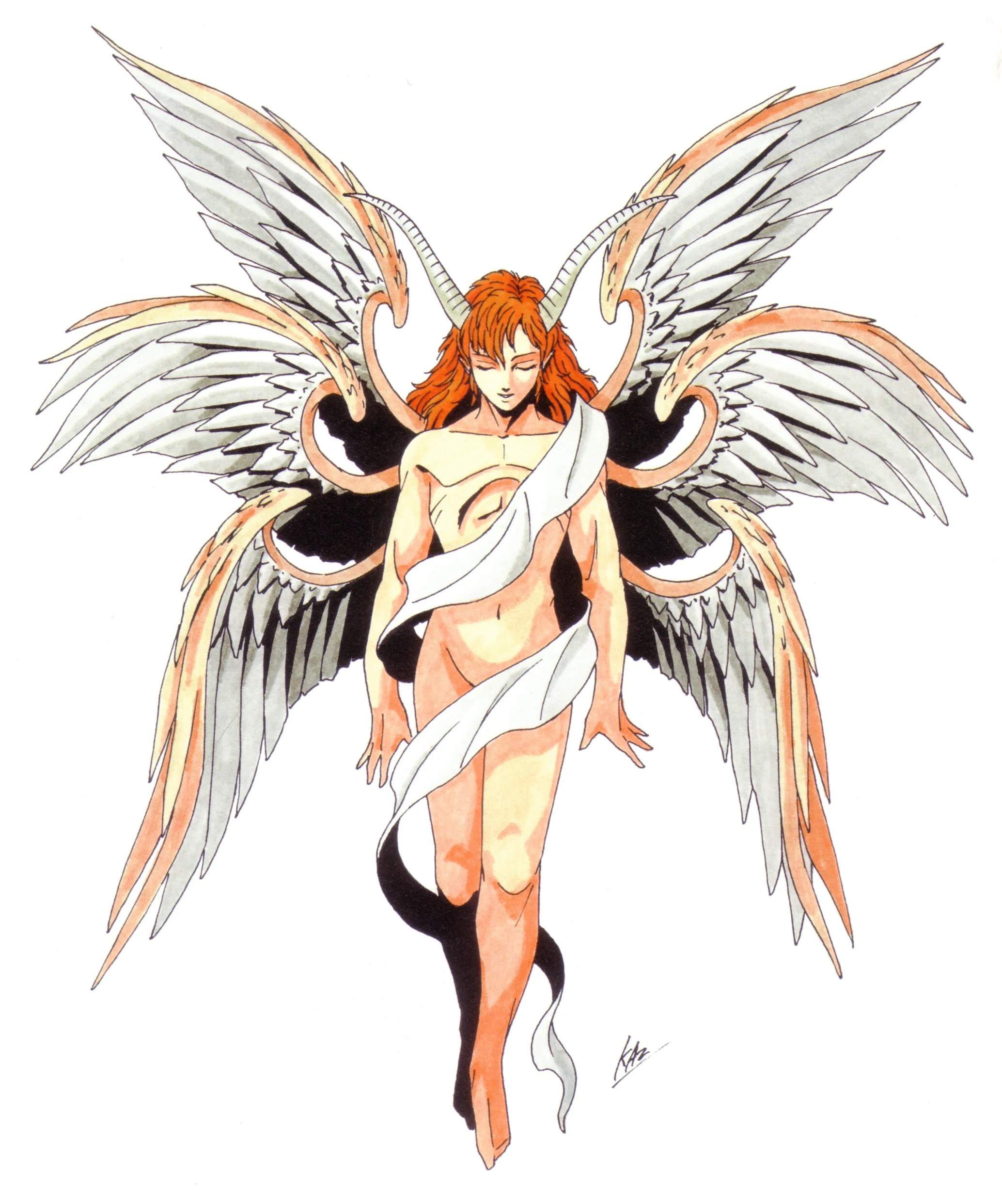 Lucifer in the Shin Megami Tensei series, who apparently looks gorgeous.