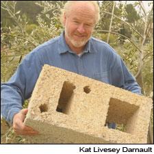 Primeira fotogarfia publicada no artigo Château Cannabis? Vinícola francesa é feita de tijolos de cânhamo, a popular maconha...