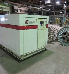 gardner denver 150 hp compressor model eaq990 [ 1024 x 768 Pixel ]