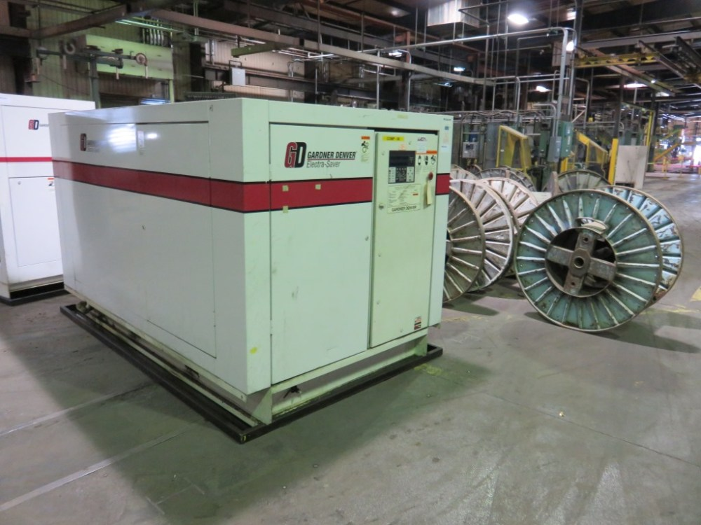 medium resolution of gardner denver 150 hp compressor model eaq990