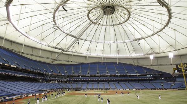 Tropicana Field di St. Petersburg (Florida – U.S.A.)