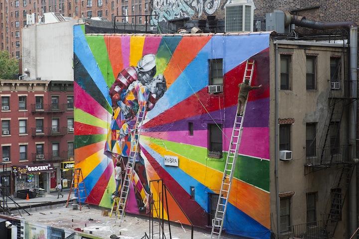 La Iphone Wallpaper Le 20 Capitali Della Street Art Wired