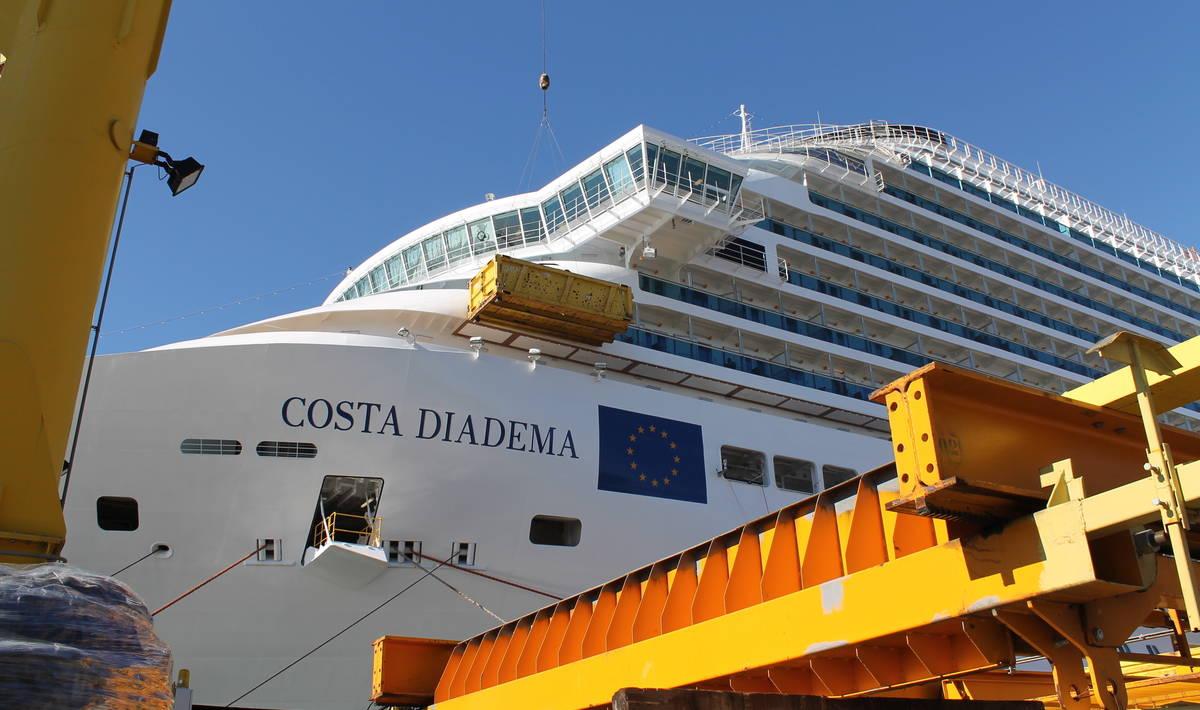 Costa Diadema come si costruisce una nave da crociera  Wired