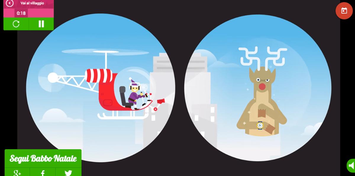 Seguire Babbo Natale su Google Maps  Wired