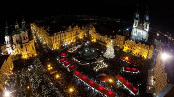 Piazza della città vecchia di Praga - Repubblica Ceca