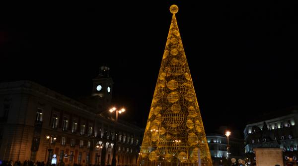 Puerta del Sol di Madrid - Spagna
