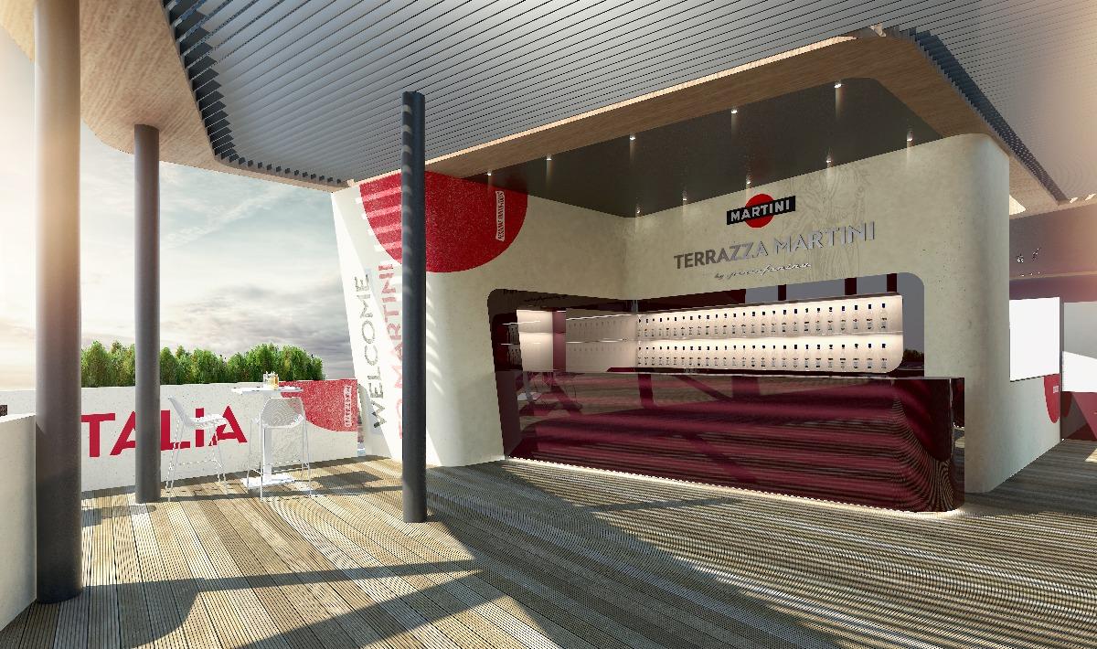 Terrazza Martini a Expo laperitivo ha il design di Pininfarina  Wired