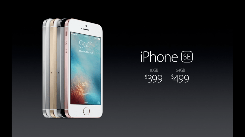 Ci risiamo i 399 dollari delliPhone SE in Italia