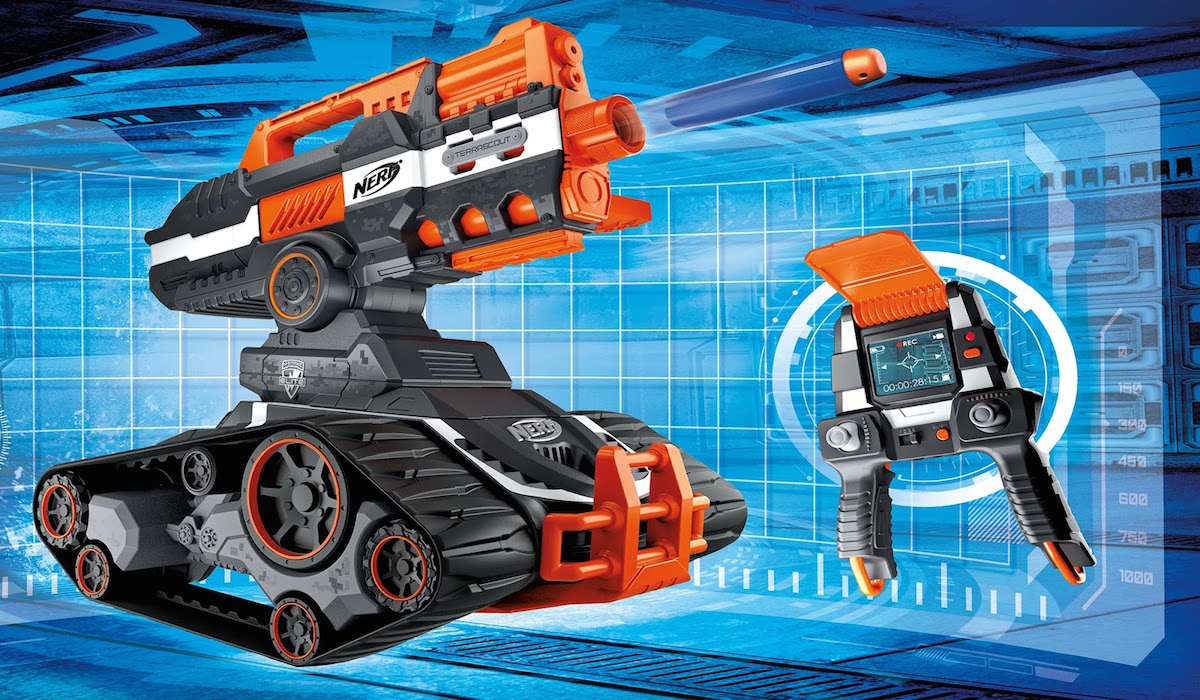 Nerf lancia il drone da battaglia  Wired