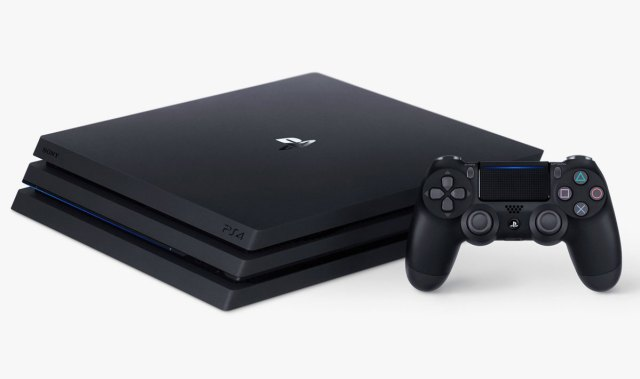 La PS4 Pro. Photo Credits: Sony