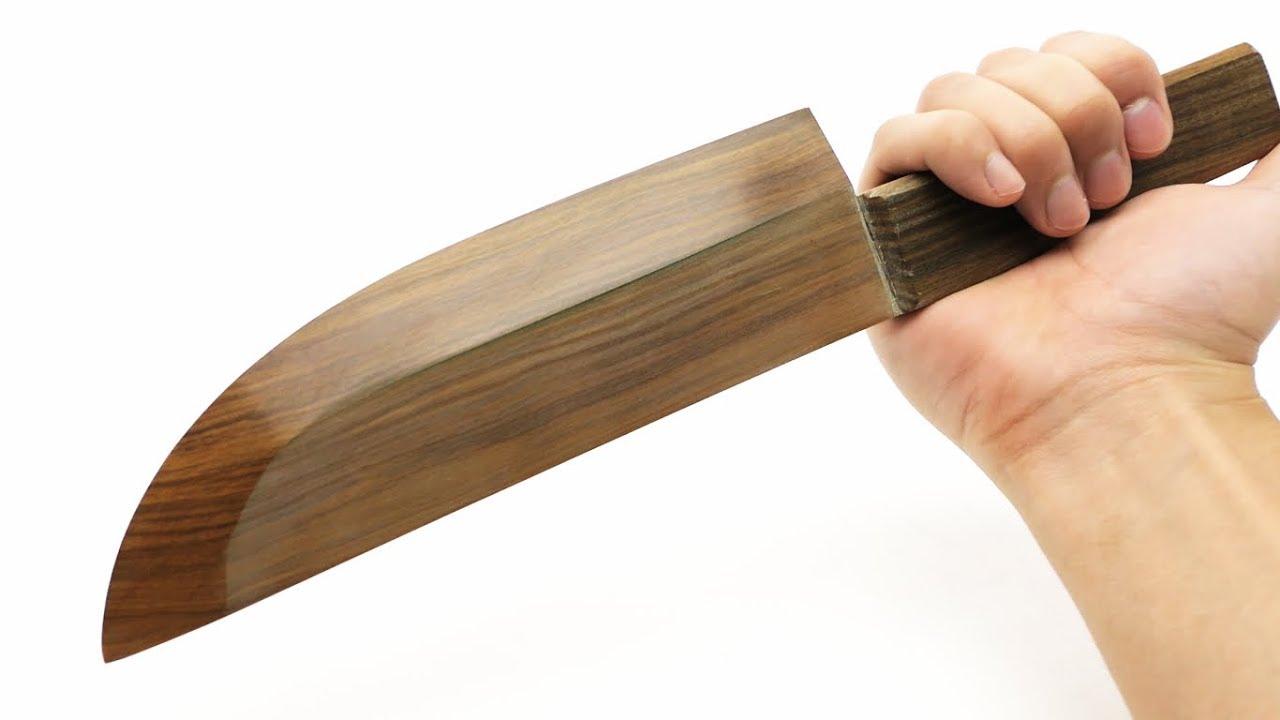 Il coltello in legno pi affilato al mondo  giapponese