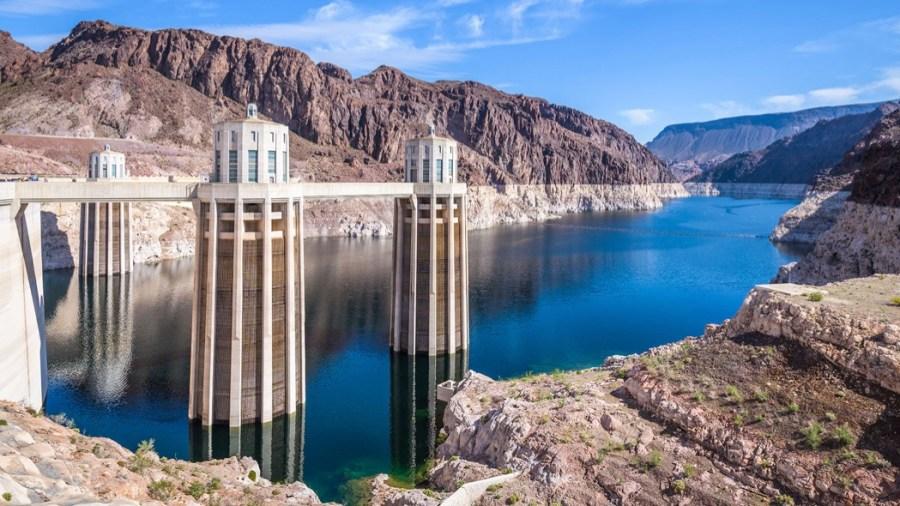 Il cantiere alla diga Hoover (Webuild)