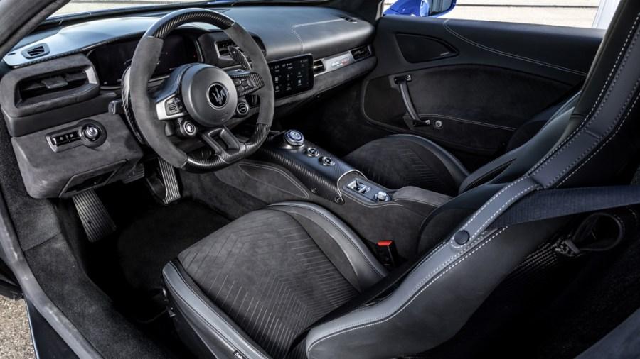 Gli interni di Maserati MC20