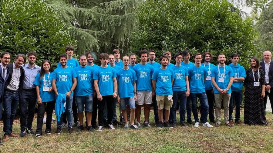I 20 convocati del TeamItaly (foto Luca Zorloni/Wired)