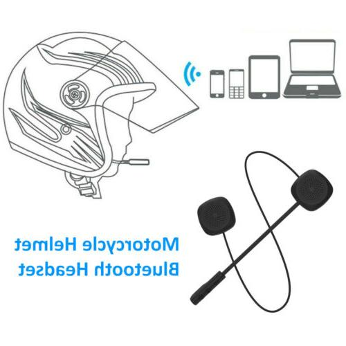 Helmet Headset Stereo Dual Earbuds Wireless Bluetooth