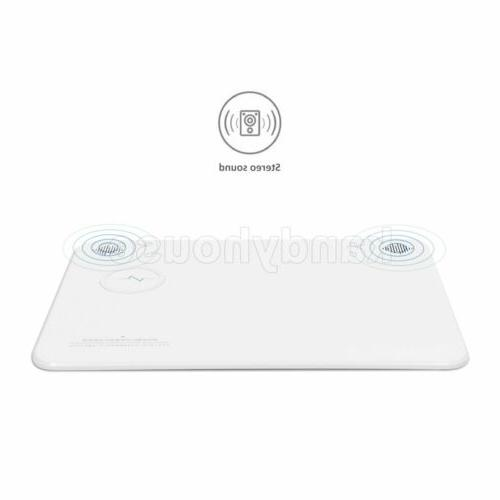Qi Wireless Charging Charger + Bluetooth Speakers