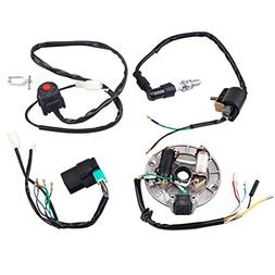 ZXTDR Wire Harness CDI Ignition Coil Spark Plug